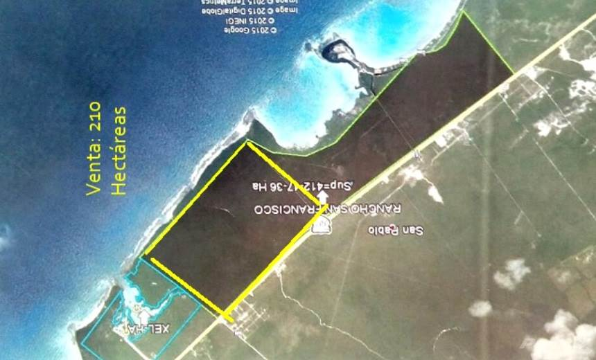 Domy i lokale mieszkalne w Hotel Lot for Sale in Tulum of 200 hectares, Tulum, Quintana Roo   , Meksyk